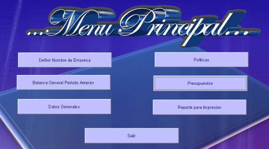 menu costos